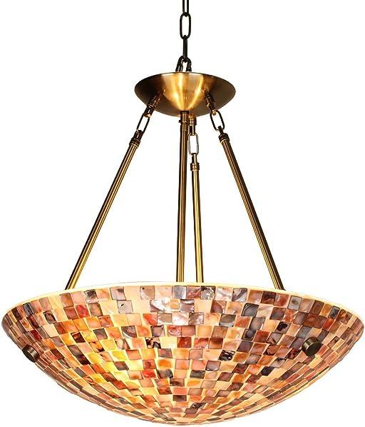 Artzone Tiffany Hanging Lamps 20 inch
