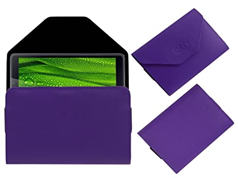 Acm Pouch Case Compatible with Iball Slide 3g Q27 Tablet Flip Flap Cover Holder Purple Tablet Accessories