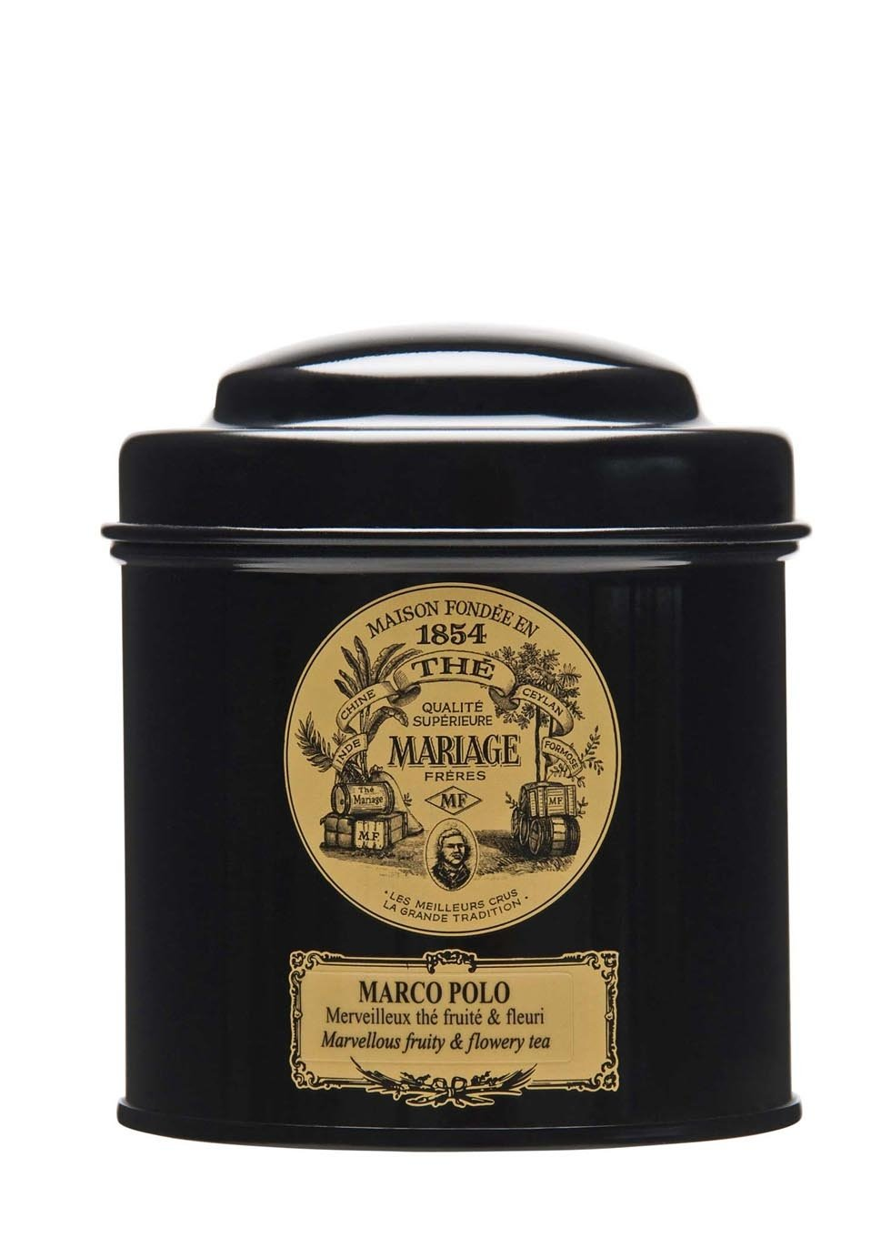 MARIAGE FRERES. Marco Polo Tea, 100g Loose Tea, in a Tin Caddy (1 Pack) Seller Product Id MR24LS - USA Stock