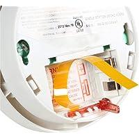 Kidde   Model i9040 Battery-Operated Ionization Sensor Compact Smoke Detector Alarm