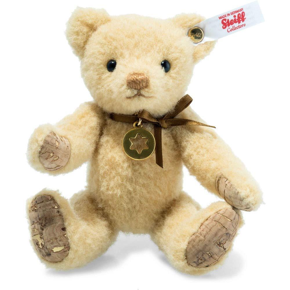 Steiff 006364 Stina Teddybär 13 cm Honig 5-Fach gegliedert