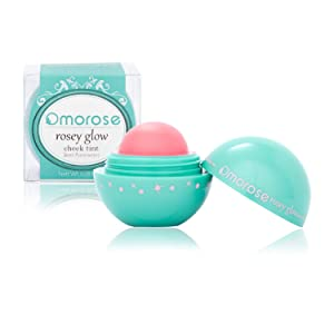 Omorose Cosmetics Colorful Pigmented Natural Sheer Opaque Blendable Flush Glow Glowy Dewy Highlight Cruelty Free Beauty Makeup Glow Cream Gel Hydrating Lip Cheek Tint Blush, Foxy Baby Pink