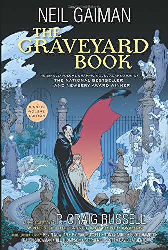 The Graveyard Book Graphic Novel Single Volume by HarperCollins