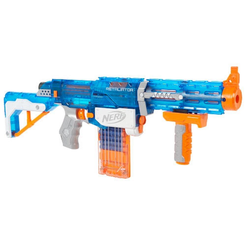 Amazon.com: NERF NStrike Elite Retaliator Sonic Ice Series Blaster: Toys &  Games