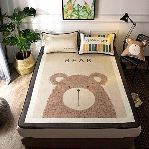 GX&XD Cartoon Collapsible Summer sleeping mat,Summer sleeping mat Air Soft...