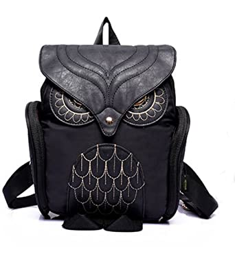 Amazon.com | HEYFAIR Women Cute Owl Backpack Purse Casual School ...
