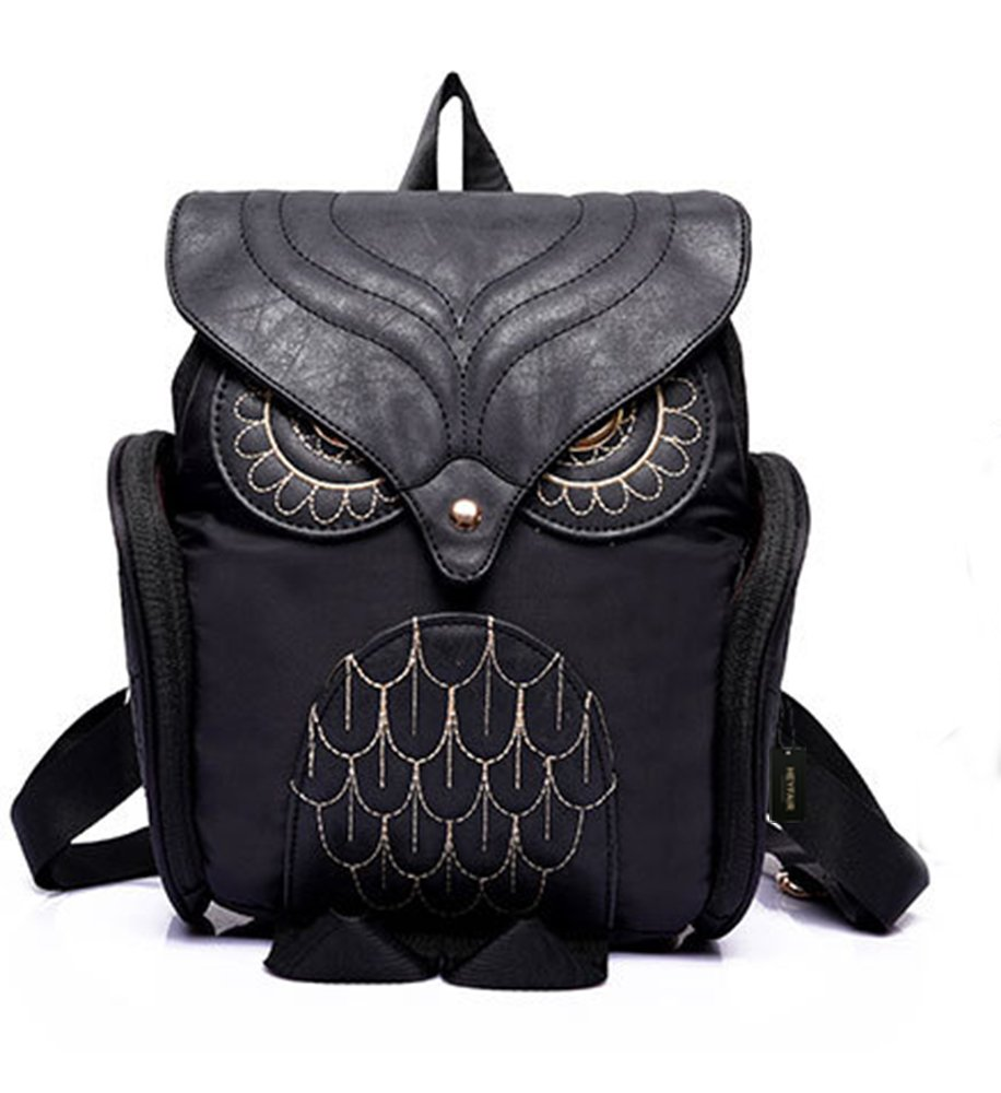 HEYFAIR Women Cute Owl Backpack Purse Casual School College Day ...