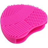 Powstro Cosmetic Makeup Brush Cleaner Silicone Finger Glove Washing Scrubber Board Cleaning Mat Pad Tool