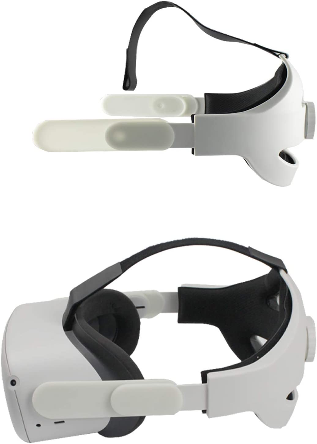 Eyglo Replace K3 Adjustable Elite Strap for Oculus Quest 2 Head Strap Pad Enhanced Support and Comfort Small K3 Lightweight Storage