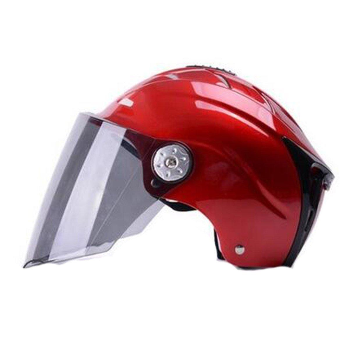TZQ Dame Mountain Bike Motorrad Half Helm Im Freien Erwachsene Sichere Straße Männer City Scooter Helm
