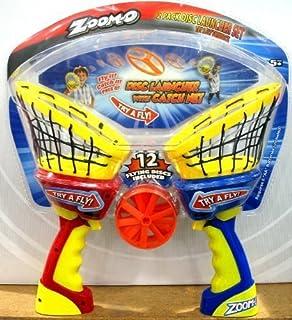 Amazon.com: zoom-o pelota lanzador con Catch cesta: Toys & Games
