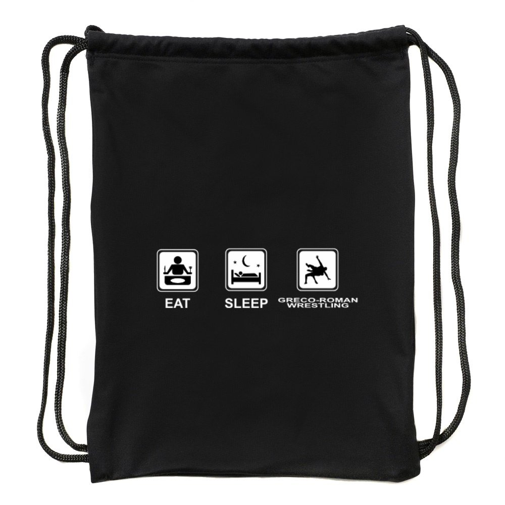 Eddany Eat sleep Greco Roman Wrestling Sport Bag by Eddany