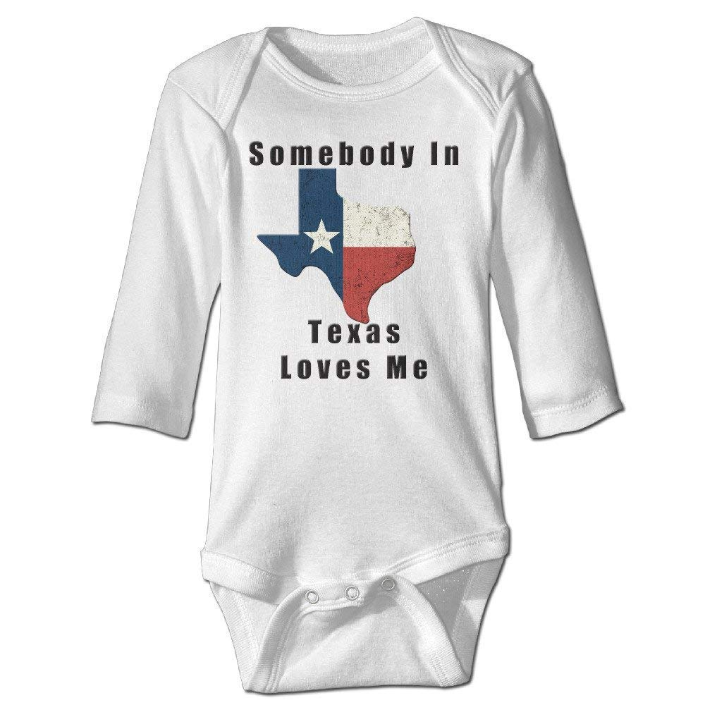 Pillow hats Somebody In Texas Loves Me Long Sleeve Baby s