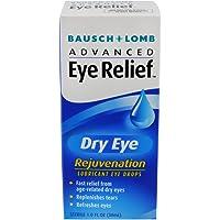 Bausch & Lomb - Alivio de ojos avanzado, Rejuvenecimiento del ojo seco, 1 Ounce (Pack of 3)