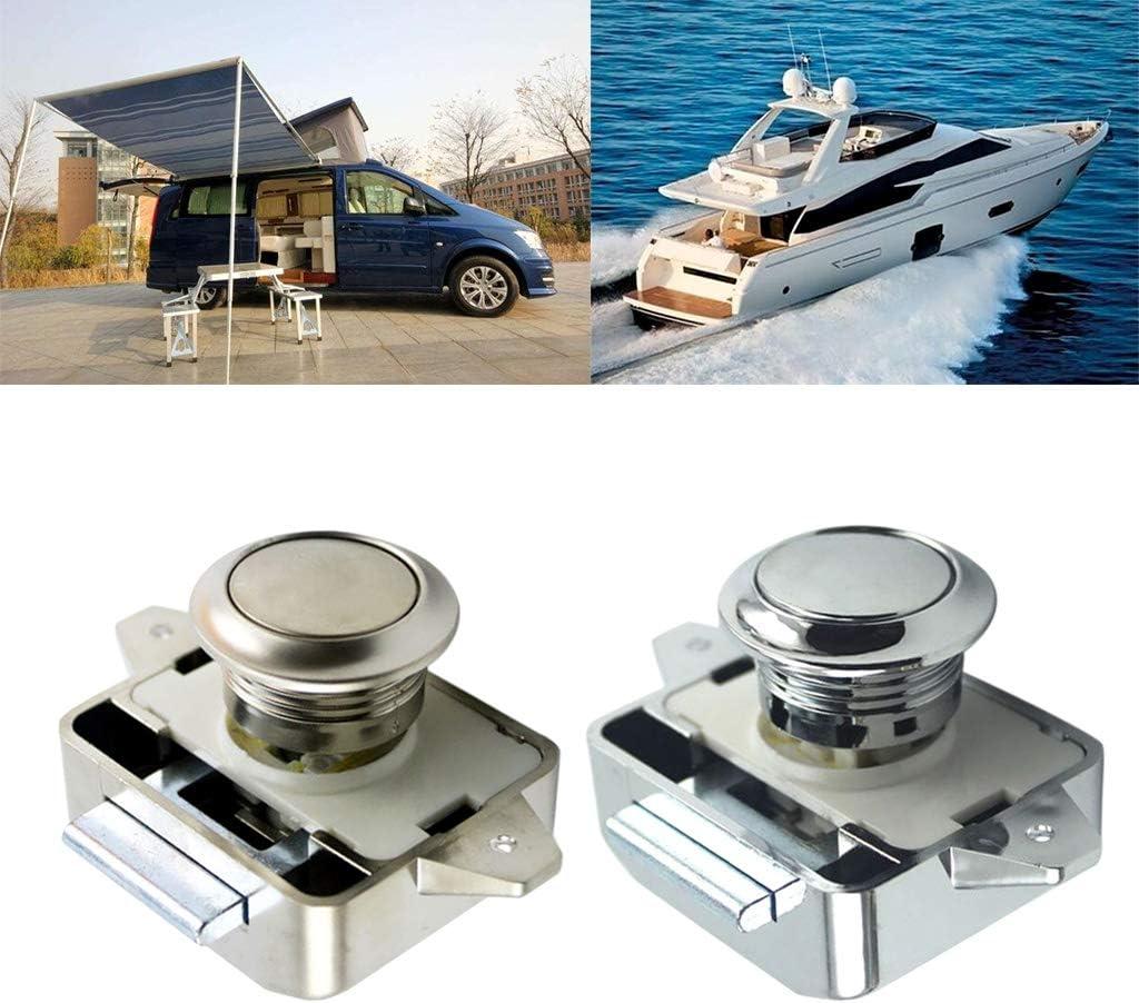 Wohnmobil Auto Push Lock Wohnmobil Boot Motor Home Schrank Schubladen Knopf Schl/össer f/ür M/öbel Hardware S