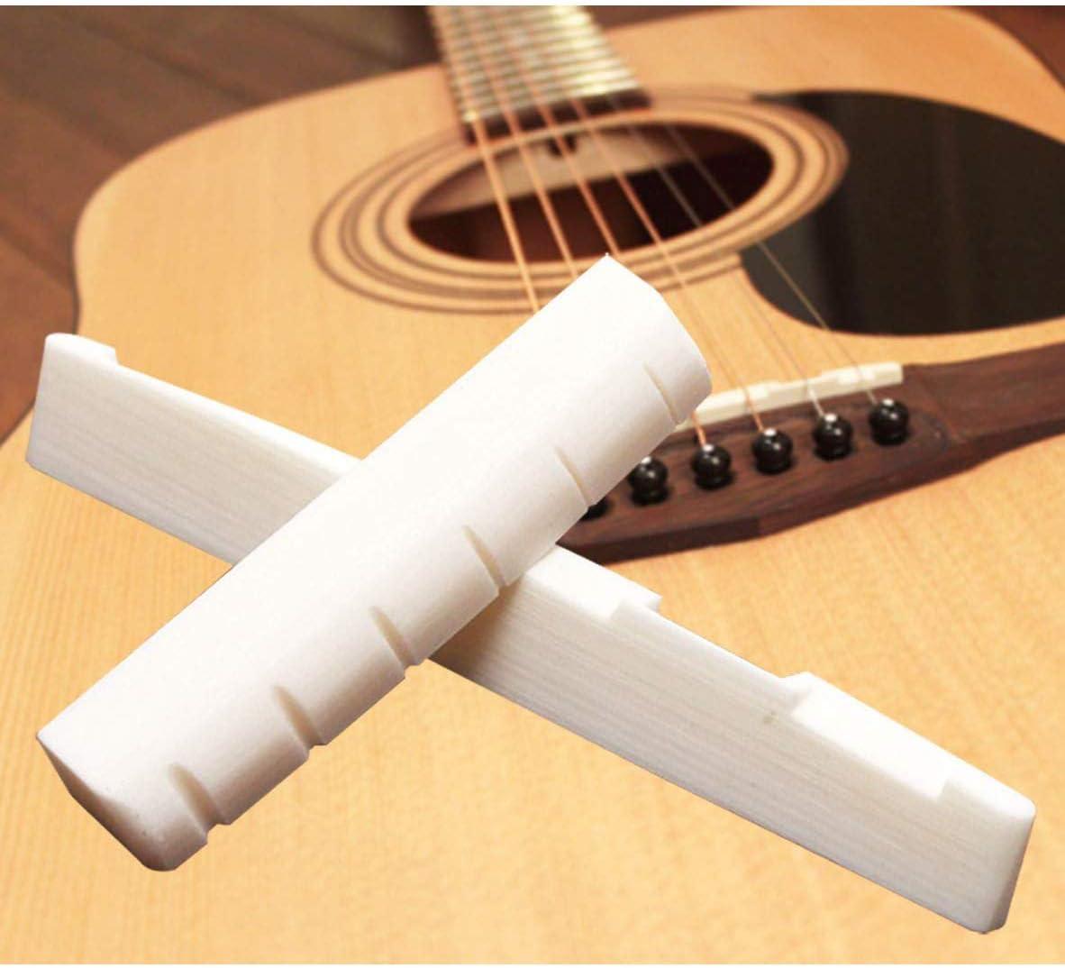 Set di perni di ricambio per chitarra acustica Saddle and Nut and Pins Set
