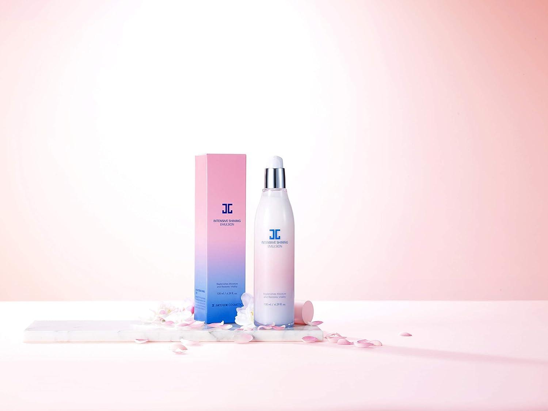 Amazon Com Jayjun Intensive Shining Emulsion 130ml 4 39 Fl Oz Cherry Blossom Brightening Hydrating 5 In 1 Care Beauty