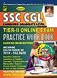Kiran's SSC CGL Tier - II Online Exam Practice Work Book with CD - 1860