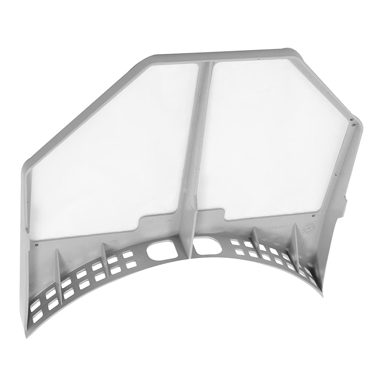 Spares2go Gris con ventilaci/ón filtro de Fluff jaula para Indesit secadora