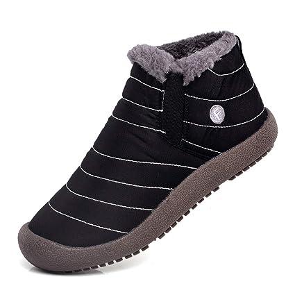 23b949bbb3a Amazon.com : RUI Men's Winter Waterproof Snow Boots Large Size ...