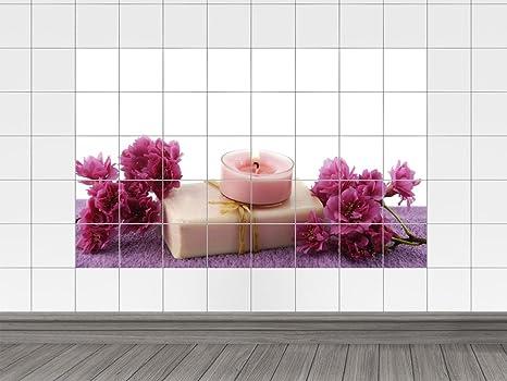 Piastrelle adesivo piastrelle immagine sapone saponetta con