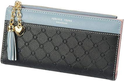 Women/'s Designer Fibbia Borsetta//portafoglio donna pochette in pelle elegante NUOVO