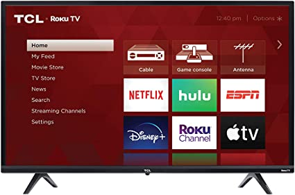 "TCL 32"" 3-Series 720p Roku Smart TV"
