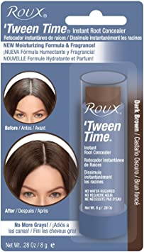 ROUX Tween Time Instant Haircolor Touch-Up Stick DARK BROWN 1/3 oz/10 g