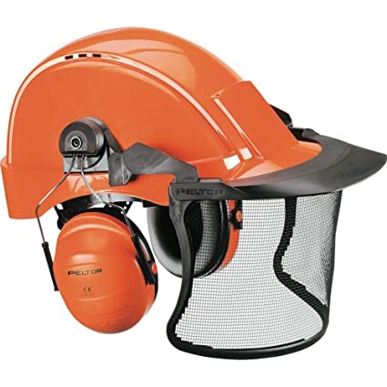 Casco Peltor Kit leñador, compuesto de casco G3000 gorro H31, visera V5 C y