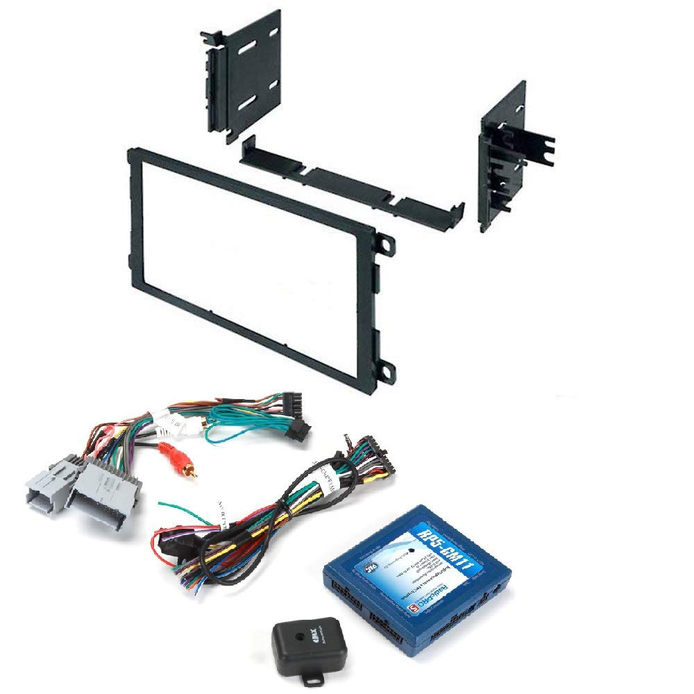 Double DIN Installation Kit for Select 1992-2011 GM Vehicles PAC RP5-GM11 Interface with Built-in OnStar Retention/Steering Wheel Control Retention/Navigation Outputs for Select GM Class II Vehicles