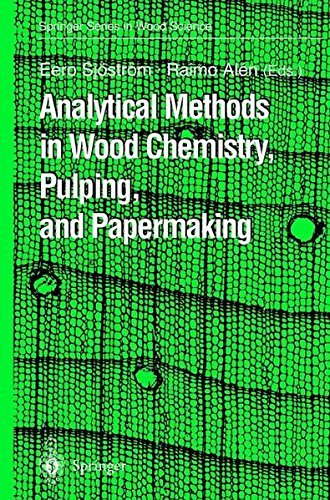 Analytical Methods in Wood Chemistry, Pulping, and Papermaking (Springer Series in Wood Science) Pdf