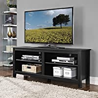 58 in. Wide Sunbury TV Stand By Beachcrest Home (Black)