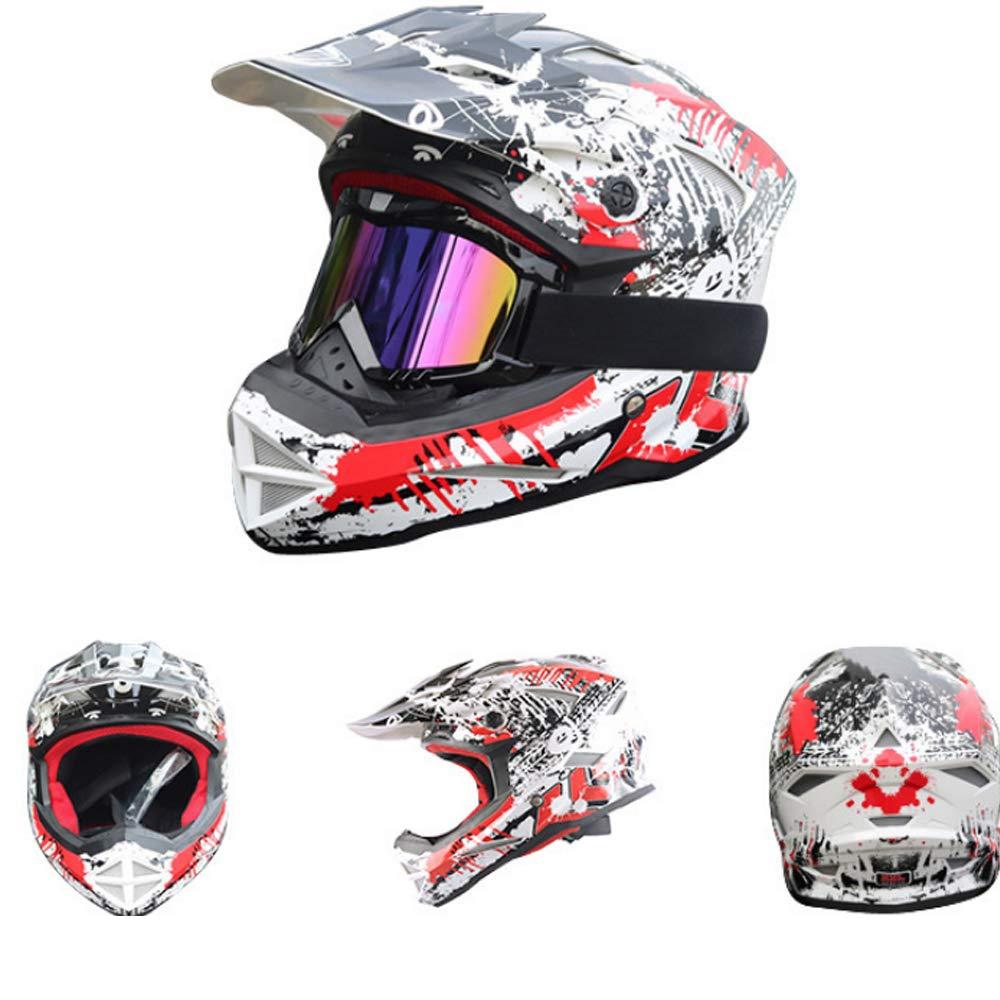 Leichter Warmer Motorrad-Helm Vier Jahreszeiten Schutz winddichten Motorrad-Helm langlebigen Verschleiß leicht blenden kühlen männlichen und weiblichen allgemeinen Erwachsenen Helm