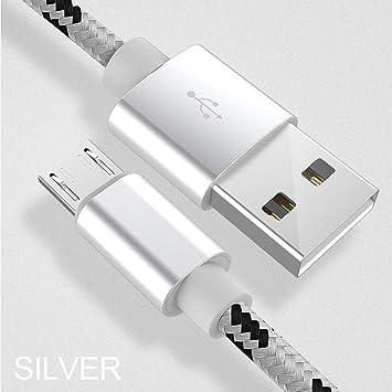 SHUNYUS Cable De Carga Micro USB Cable De Cable Micro USB ...