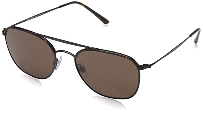 d61cfb49d988 Giorgio Armani Mens Sunglasses Tortoise/Brown Metal - Non-Polarized - 54mm