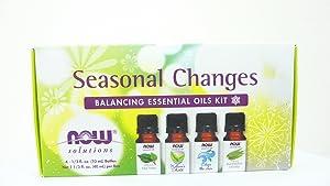 NOW Foods Seasonal Changes Balancing Essential Oils Kit