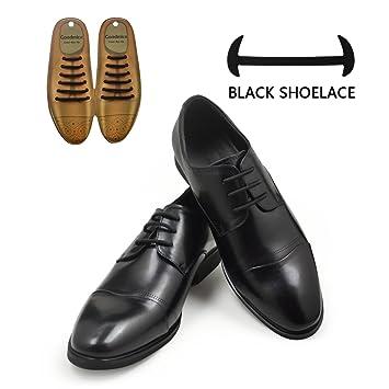 1fdeefff73b48 No Tie Dress Shoe Laces for Men/Women Elastic Rubber Silicone Formal Oxford  Shoelaces Best