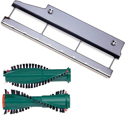 Bürsten Reparatur-Set geeignet für Kobold 120 121 122 mit ET 340 Bodenblech