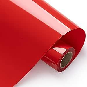Eygoo Chameleon Heat Transfer Vinyl 12Inch x 5Feet Rolls,Iron On Vinyl for Cricut and Silhouette Cameo,Easy to Cut /& Weed Htv Vinyl Rolls,PU Heat Transfer Vinyl for T-Shirts Gradient Purple