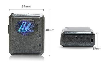 AmaxXon® Smart Reloj con localización GPS y teléfono manos libres, incluye Tiempo real standortabfrage para Android/iPhone App, Azul: Amazon.es: Electrónica