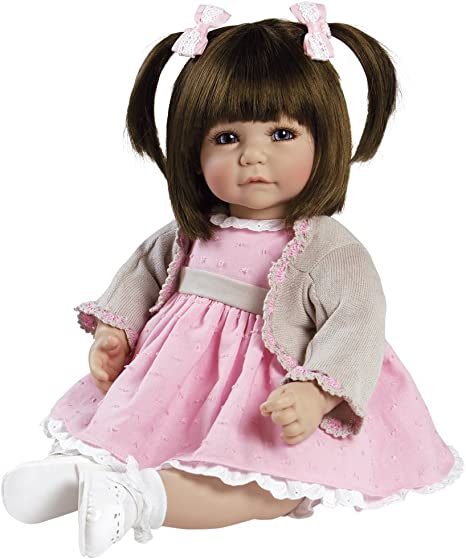 Adora Toddler Doll Let`s Celebrate Baby 20 Girl Weighted Doll Gift Set for Children 6 Huggable Vinyl Cuddly Snuggle Soft Body Toy Baby 20 Girl Weighted Doll Gift Set for Children 6 Huggable Vinyl Cuddly Snuggle Soft Body Toy Charisma Import 218708