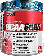 Evlution Nutrition BCAA5000 Powder 5 Grams of Premium BCAAs