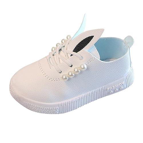 Zapatos para Niña K-youth Zapatillas de Deporte Niñas Orejas de Conejo Zapatos De Niña