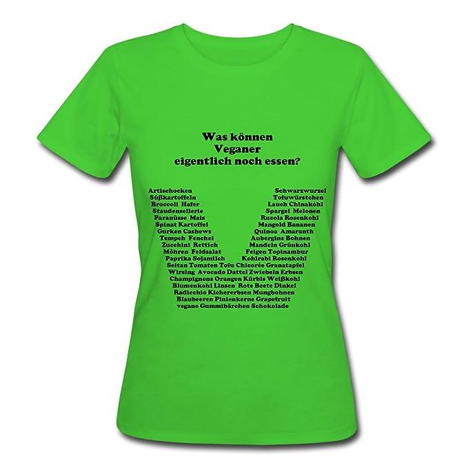 Comer vegana Mujeres bio-Camiseta de Spread Camiseta & # 174; verde claro