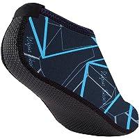 Shujin Parent Enfant Chaussures Imprimé de Sport Aquatique Unisex Socquette Respirant Adapté Natation Plongée Yoga Chaussettes de Plage Gymnase Piscine