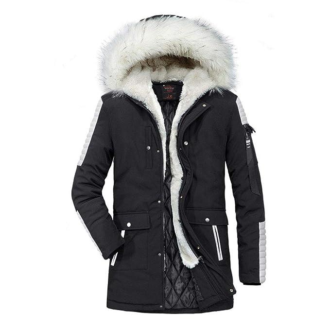 Amazon.com: Abrigos para hombre de invierno con capucha de ...