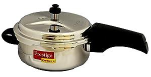 Prestige PRSS3 Pressure Cooker, 3-Liter, Silver