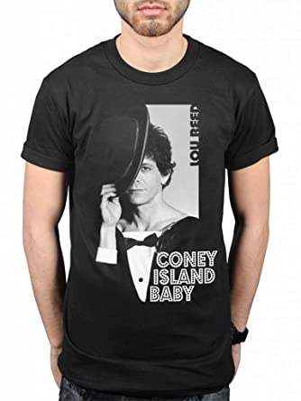 81febbd0e Official Lou Reed Coney Island Baby T-Shirt Licensed Rock: Amazon.co.uk:  Clothing