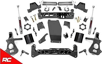 Rough Country 6 Lift Kit Compatible w// 1999-2006 Chevy Silverado GMC Sierra 1500 NTD w// N3 Shocks Suspension 27220A