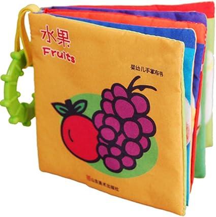 El libro de tela por tela de libro de libros de arrancar-De frutas ...